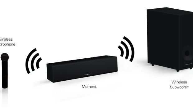 Check Out the World's First Sound Bar with Karaoke and DTS