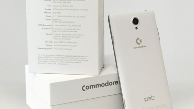 Commodore Is Back in Business with Its First Android