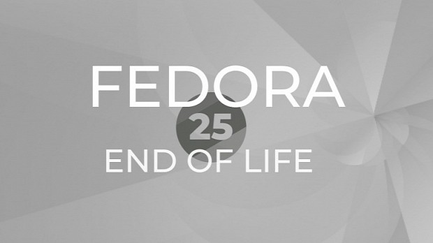 Fedora 25 to Reach End of Life on December 12, 2017, Upgrade