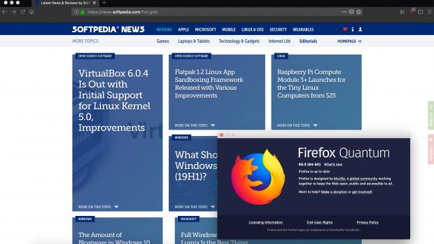 Mozilla officially released today the Firefox 65 web browser for all supported platforms, including Linux, Android, macOS, and Windows, adding yet another layer of enhancements and optimizations to make your browsing experience better.