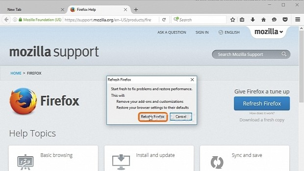 Fix Issues & Make Your Browser Run like New by Resetting