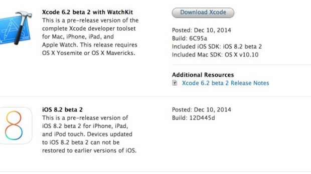 iOS 8 2 Beta 2 Available for Download – Developer News