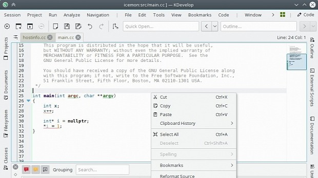 KDevelop 5 1 Open-Source IDE Gets Its First Stabilization