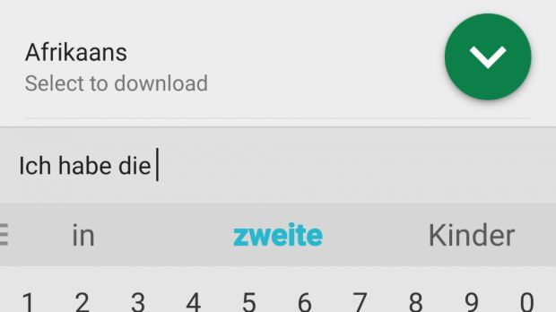 42a37adf907 SwiftKey showing typing suggestions in other languages. SwiftKey showing  typing suggestions for email addresses users ...