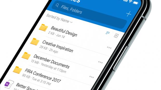 Microsoft Releases Major Redesign for OneDrive on iPhone