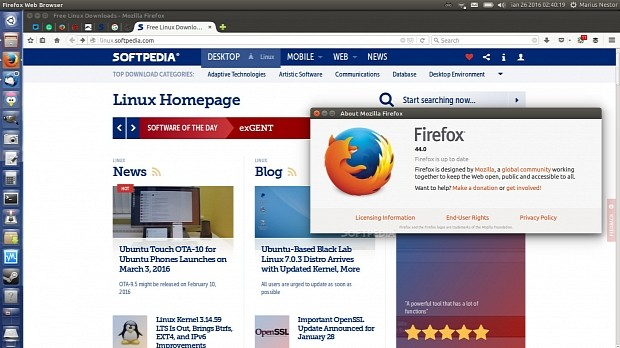 Mozilla Firefox 44 0 Is Now Available for Download for Linux, Mac