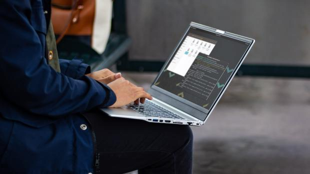 "Announced last week, System76's refreshed ""Darter Pro"" Linux laptop is now available for sale with improved battery life and updated components."
