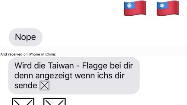 Taiwan Flag Emoji Can Crash Some Iphones Unless Updated To Ios 1141
