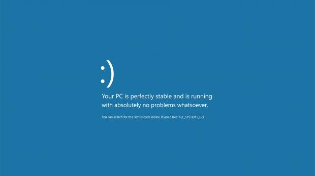 This 4k Bsod Wallpaper Is The Perfect Choice For Windows 10 Fanboys