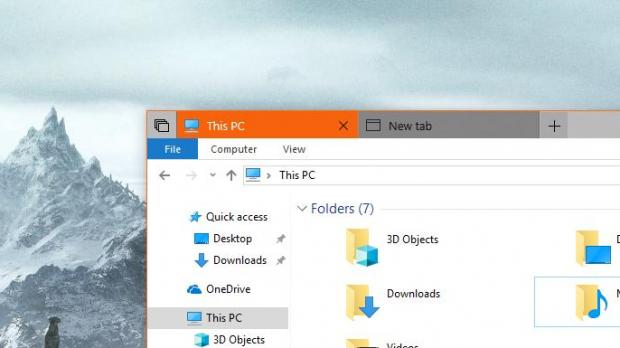 We May No Longer Get Tabs All Across Windows 10 - Software