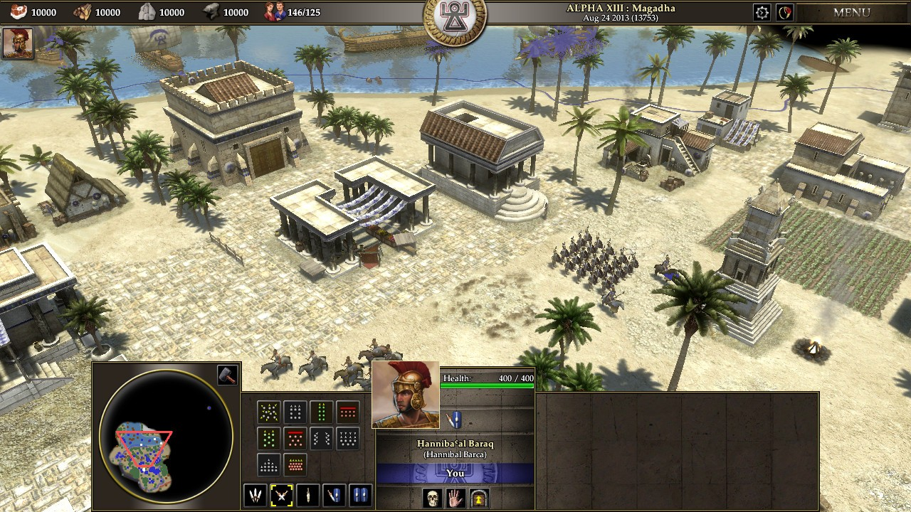 0 A D  Alpha 19 Syllepsis Free RTS Game Released for Linux