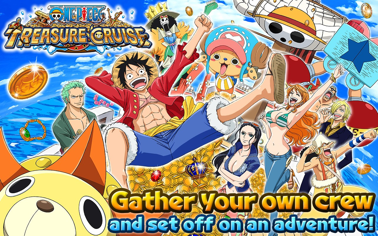 """10M Downloads Japanese Mobile Game """"One Piece Treasure ..."""