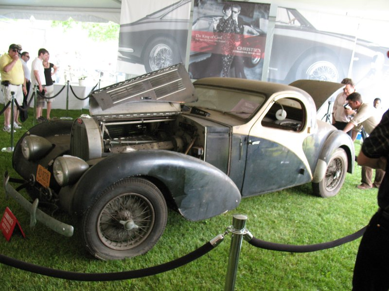 Bugatti found in barn