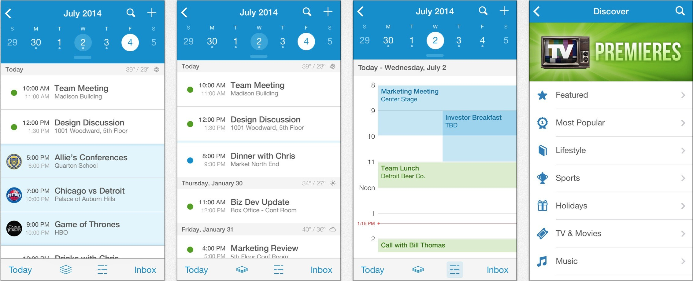 Weekly Calendar App Mac : Calendar apps for your productive week gallery