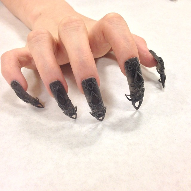 The Laser S Printed Nails