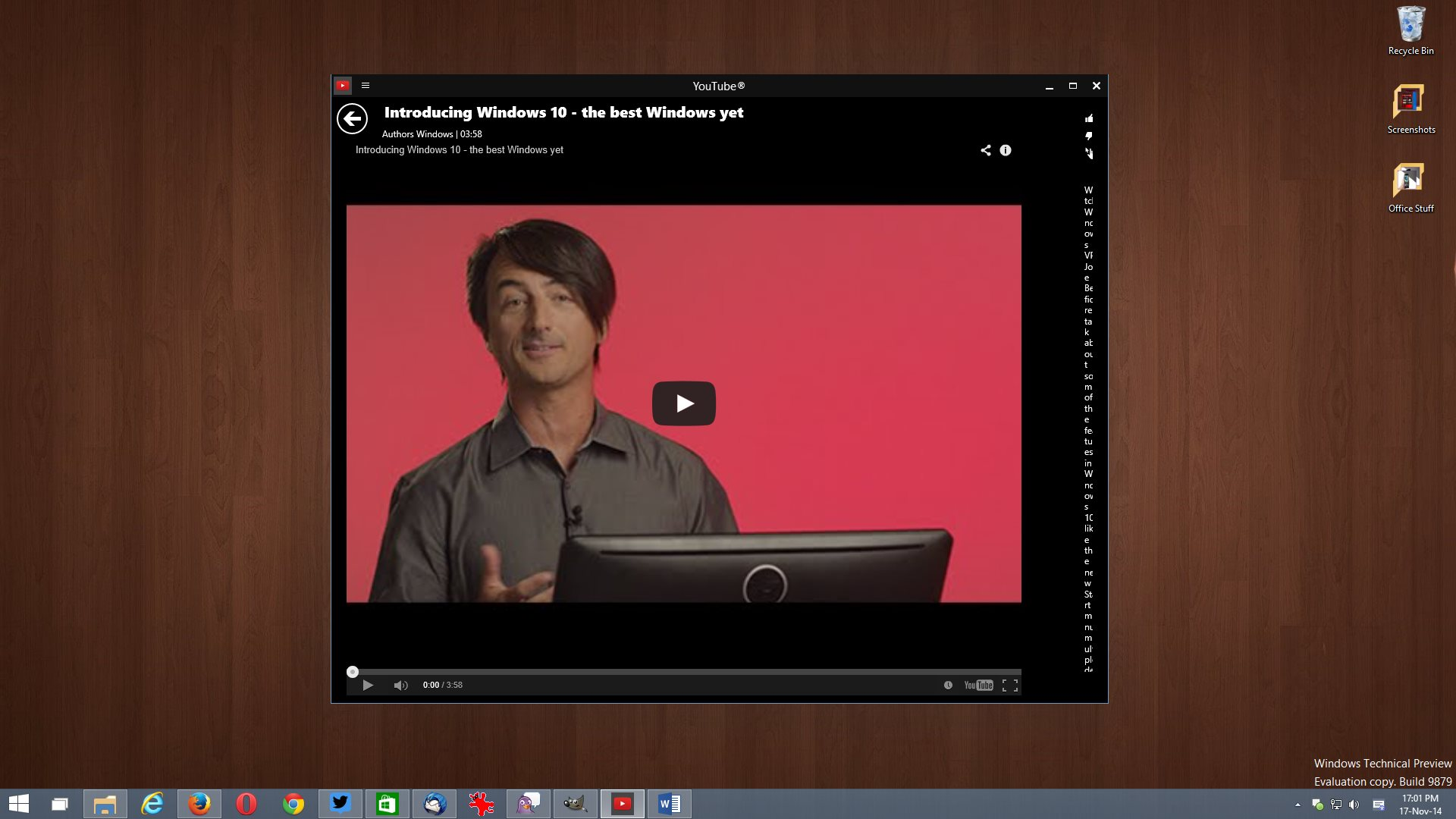 $4 YouTube App Arrives on Windows 8