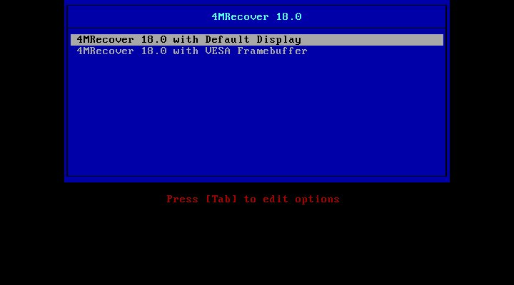4MRecover 18 0 Data Recovery Live CD Now in Beta, Adds