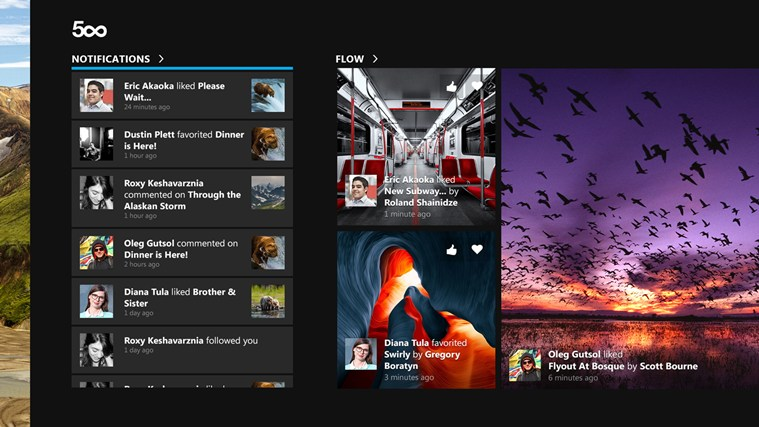 500px Gets Improved Windows 8 1 Support – Free Download