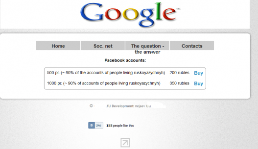 $6 (€5): The Price of 500 Compromised Facebook Accounts