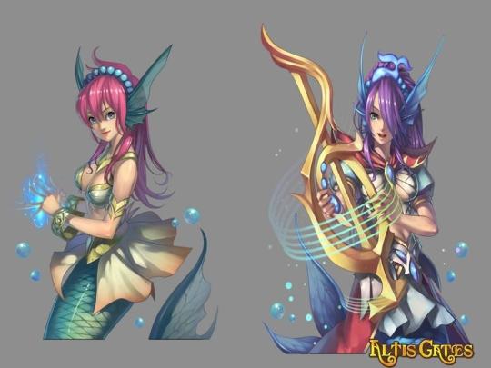 Mmorpg mermaid Play Mermaid