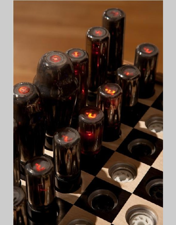 A Vacuum Tube Chess Set, As Enthralling As It Gets