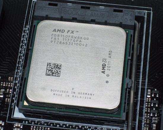 AMD Piledriver FX Processors, at Least 20% Faster than Bulldozer