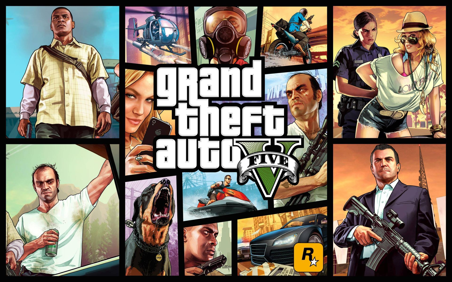 AMD Prepares for Grand Theft Auto V - Download Catalyst 15 4 Beta