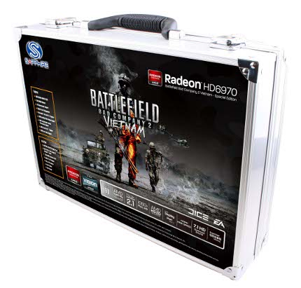 The Radeon HD 6970 special edition