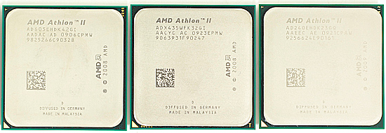 AMD Updates Athlon II Family with Eight New Processors