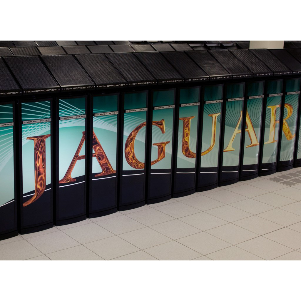 The Famous JAGUAR Cray Server Powered By AMD Opteron Processors