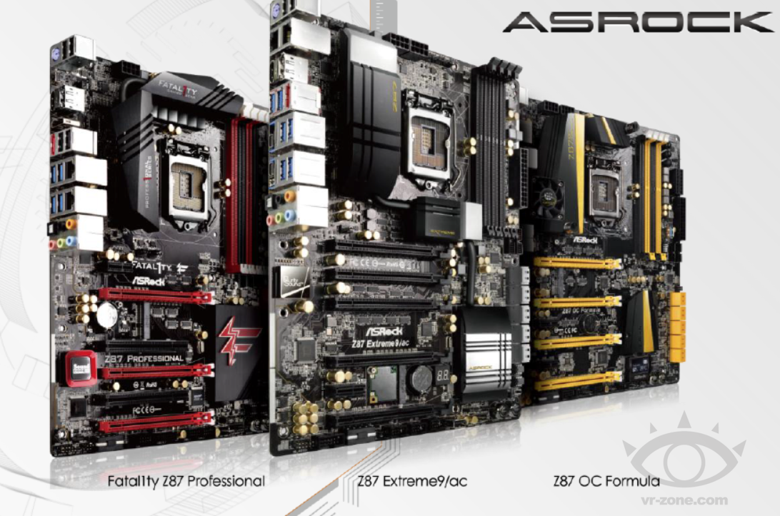 ASRock Makes Available Several BIOS Versions for Its Z87