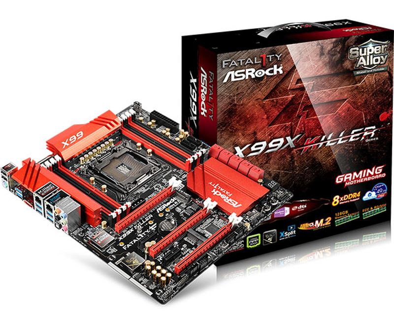 ASRock Updates BIOS for Fatal1ty X99X Killer and 970 Pro3 Boards