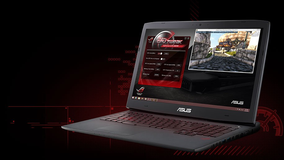 ASUS Brings Out ROG G751 Gaming Laptops with NVIDIA GTX 980M / 970M GPUs