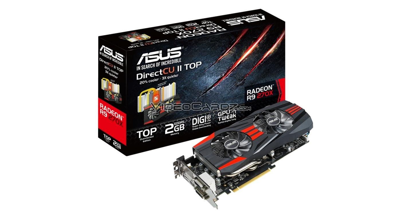 Asus Radeon Hd 7870 Direct Cu Ii Top: ASUS Details Radeon R9 270X DirectCU II Top