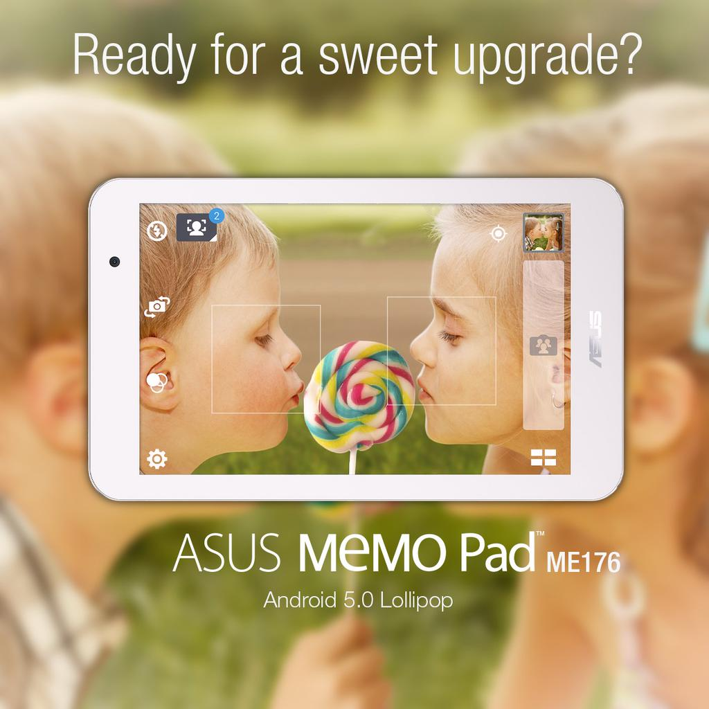 ASUS MeMO Pad 7 (ME176) Getting Android 5 0 Lollipop Soon