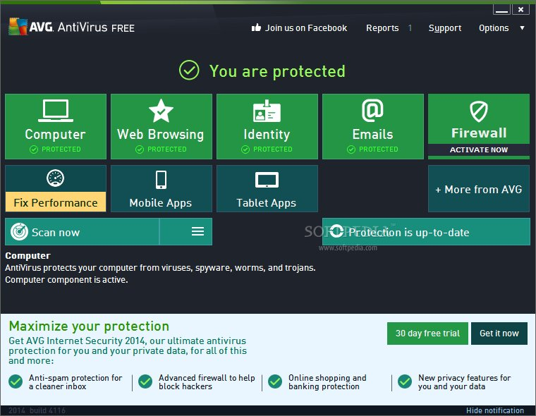 avg protection free download
