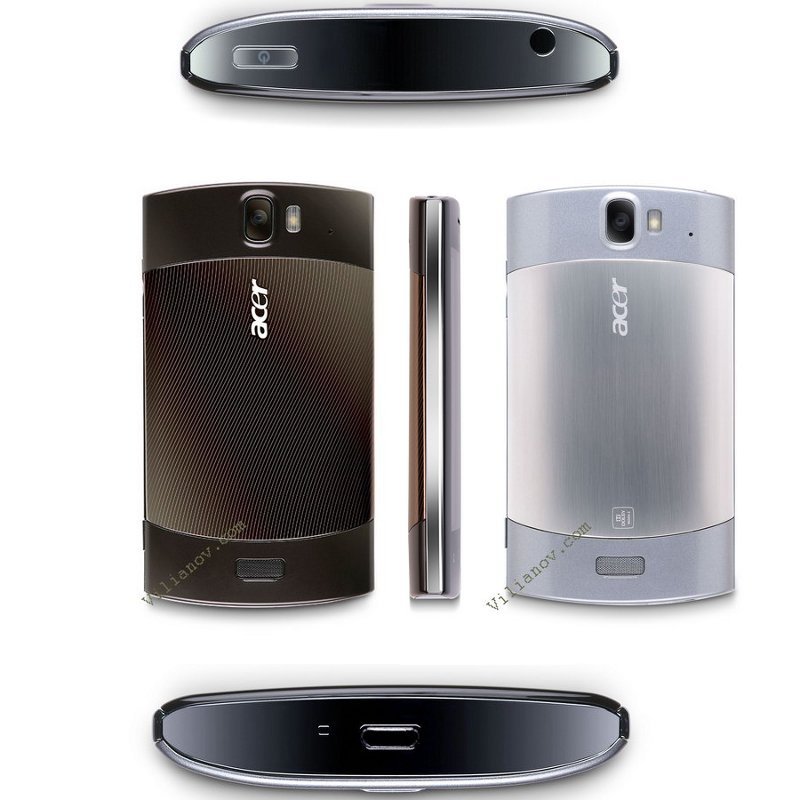 Acer Liquid Metal at FCC with Android 2 2, AT&T Bands