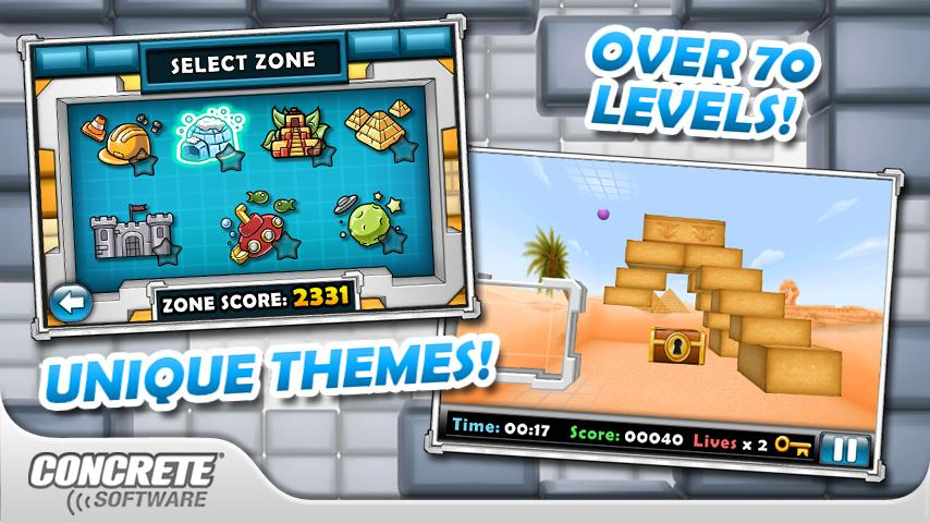 Aces 3d brick breaker for android and blackberry devices available.