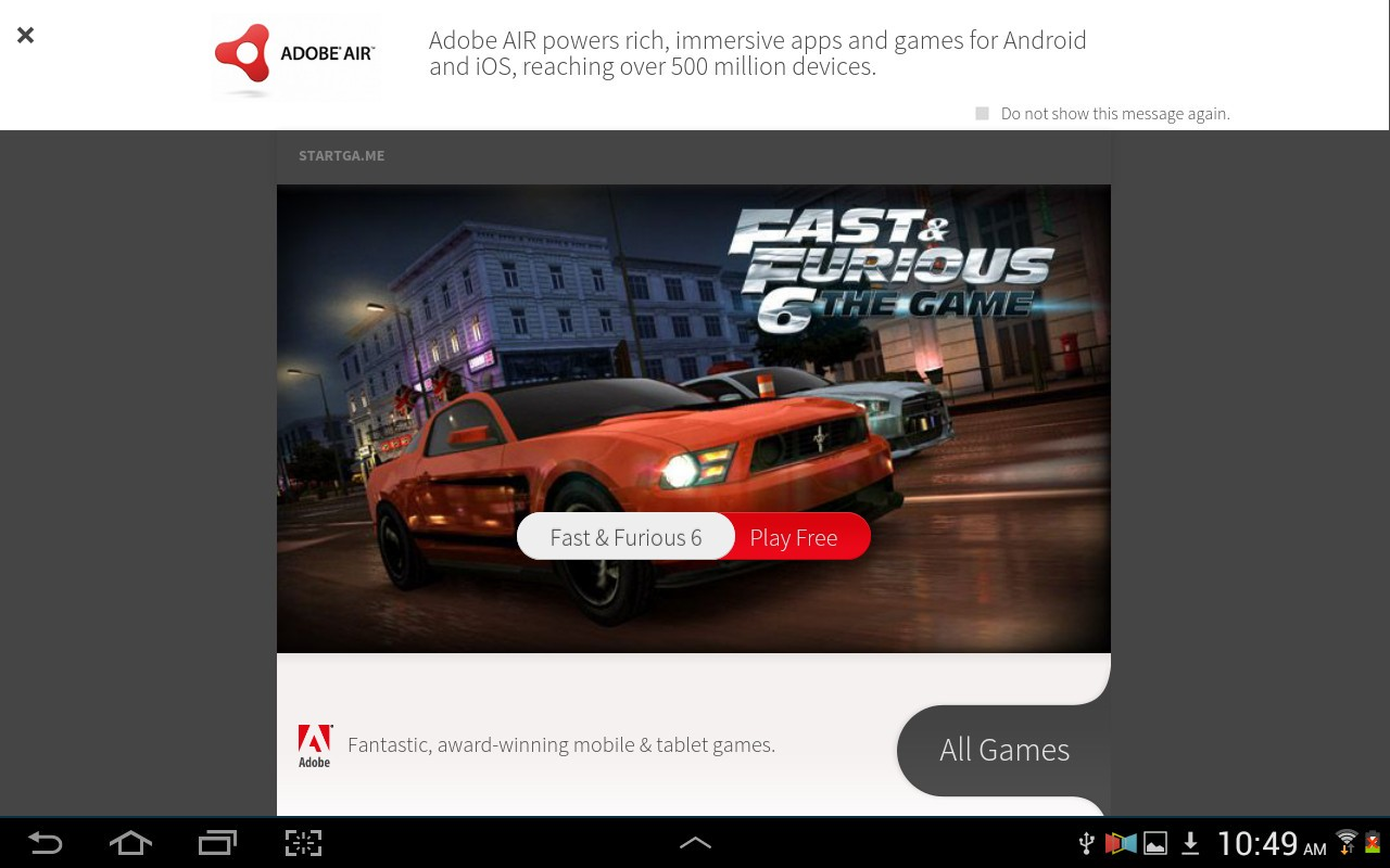 Adobe AIR Updated with Support for Intel x86-Based Android Devices