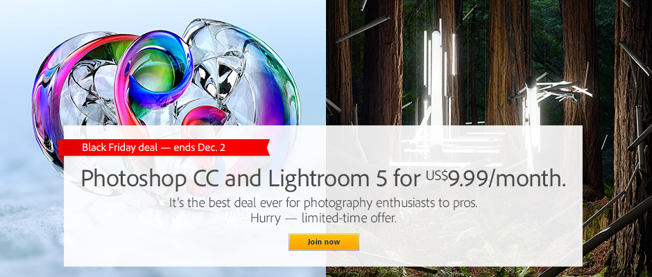 Adobe Joins Black Friday Deals With Creative Cloud Bundle Price Cut