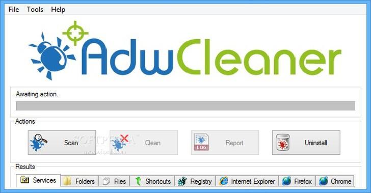 adwcleaner bleeping