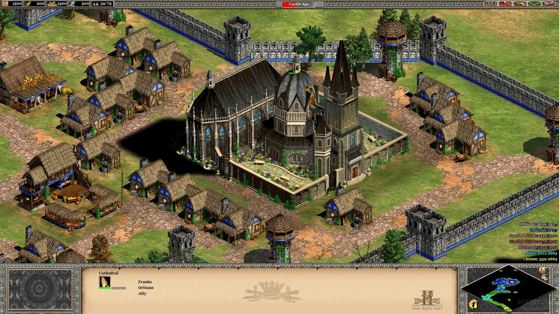 Age of Empires 2 HD Beta Patch Out on Steam, Brings 500