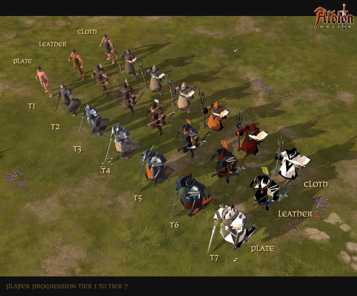 Albion Online. Character customization ...