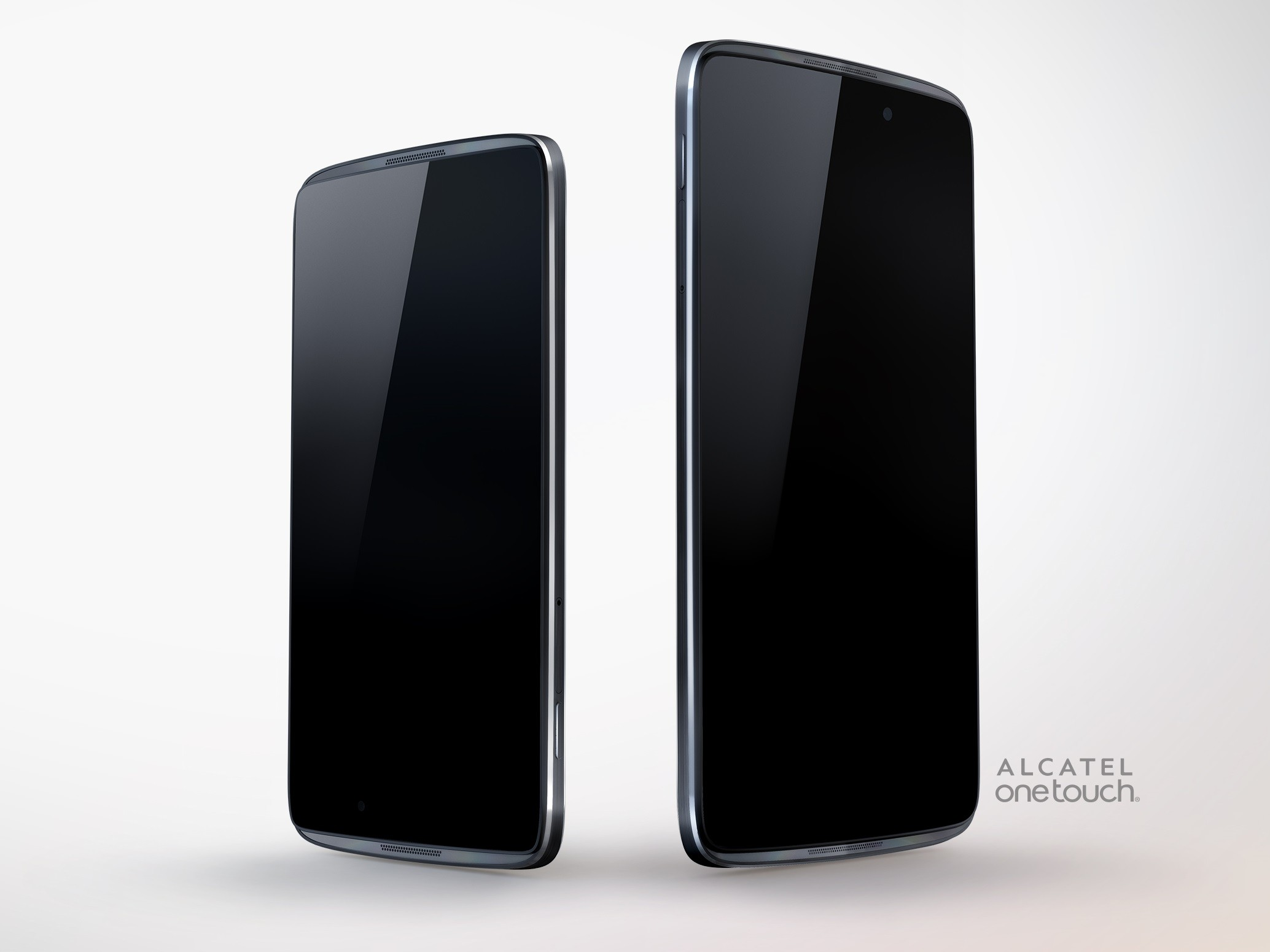 Alcatel Intros First Reversible Smartphones, Copying the