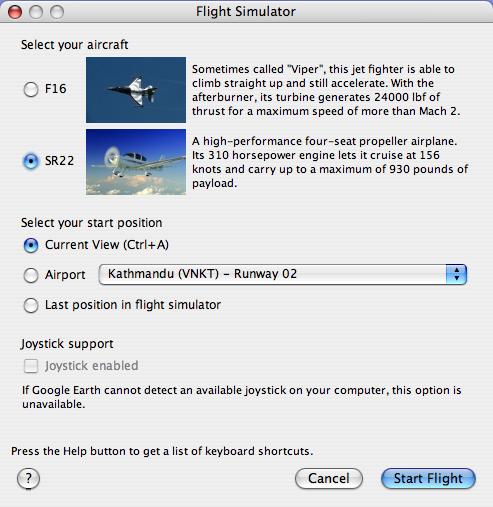 Amazing! Exciting Hidden Game in Google Earth! Flight Simulator!