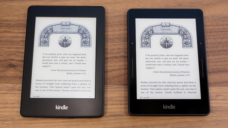 amazon rolls out firmware 5 6 1 for kindle voyage and kindle