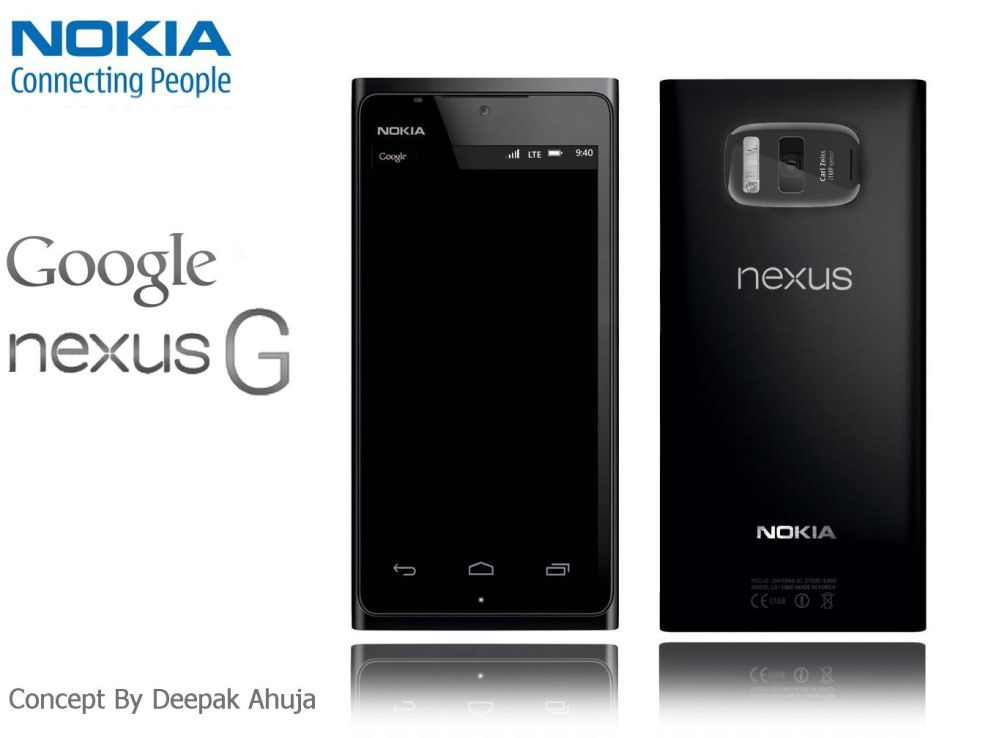 Android 4.3-Based Nokia Nexus G Concept Phone Sports 21MP ...