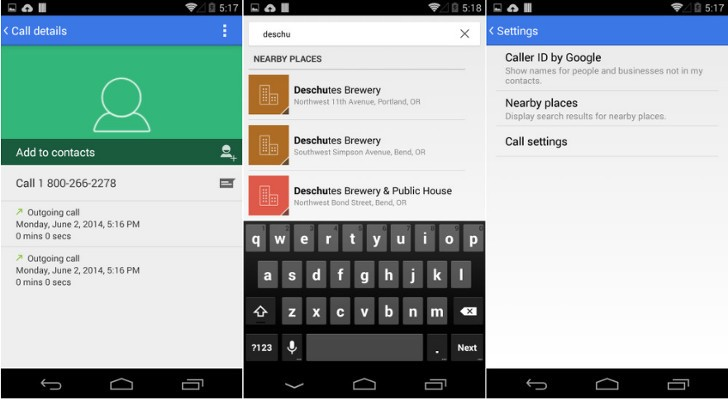 Android 4 4 3 KitKat Brings New Dialer, Fix for Camera Bug, More