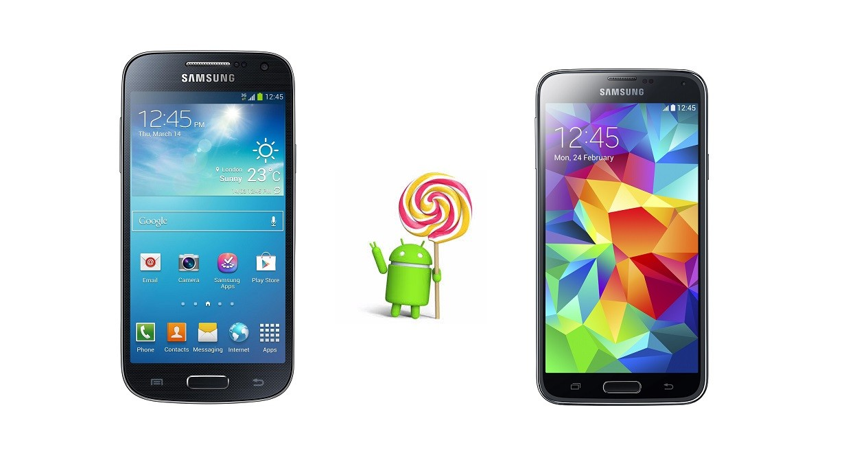 Galaxy Alpha Vs S5 android 5.0 lollipop update for samsung galaxy s5 and s4 put