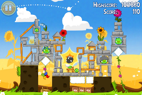 Angry Birds Seasons Is Updated with Summer Update Summer Pignic